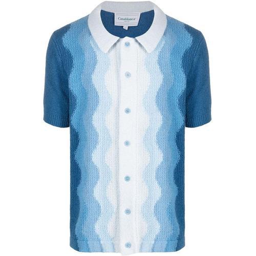 CASABLANCA Besticktes Poloshirt