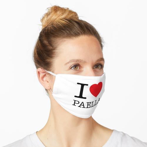 I LOVE PAELLA Maske