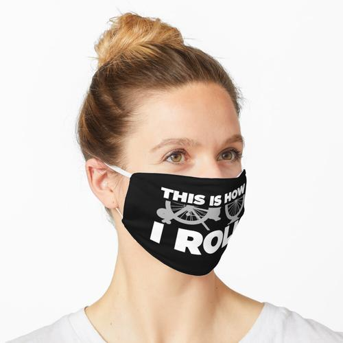 So rolle ich - Turbo-Trainingsrechteck Maske