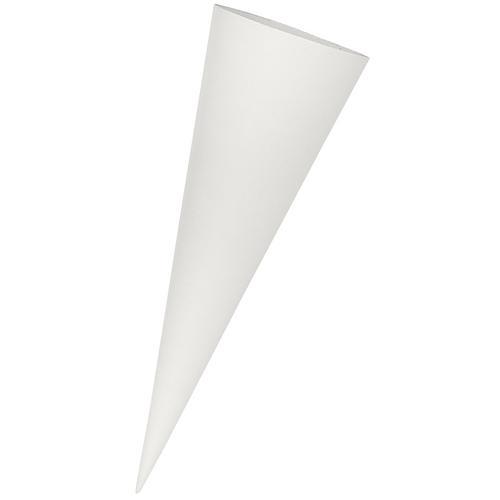 Mini-Schultüten-Rohling, grau, 35 cm