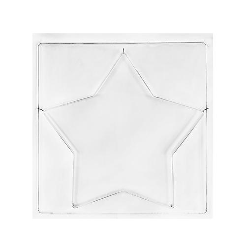 Rayher Gießform Stern, 21,5 cm Ø