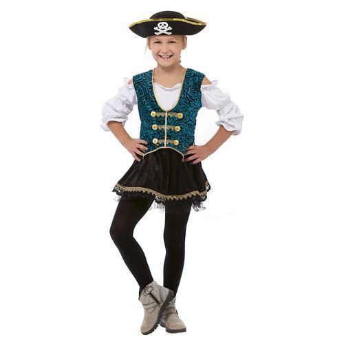 Piraten-Kostüm Mary Ann für Kinder