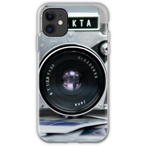Analoge Kamera Flexible Hülle für iPhone 11