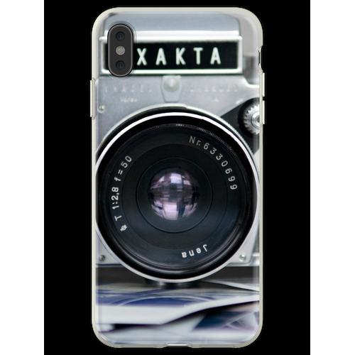 Analoge Kamera Flexible Hülle für iPhone XS Max