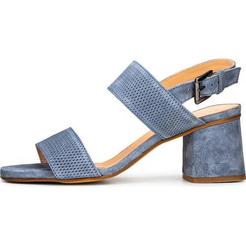 Belmondo, Sandalette in blau, Sandalen für Damen Gr. 39