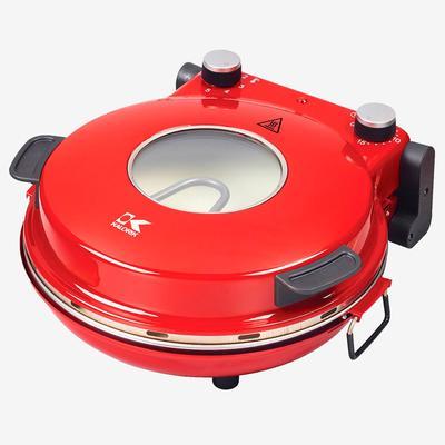 Kalorik Hot Stone Pizza Oven by Kalorik in Red