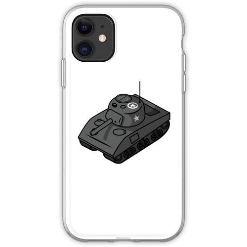 Kleiner Sherman Panzerstahl Flexible Hülle für iPhone 11