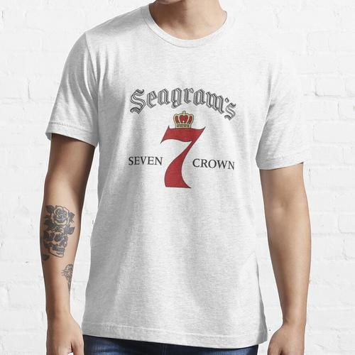 SEAGRAM'S 7 CROWN AMERICAN WHISKY5 Essential T-Shirt