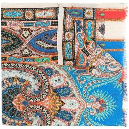 Etro Schal mit geometrischem Print