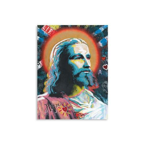 La Casa Ölbild »Jesus mit Heiligenschein« 90x120 cm 212030