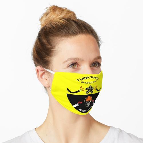 Monat der Arbeitssicherheit - Sicherheit am Arbeitsplatz - Sicherheit am Arbeitsplatz - Untern Maske