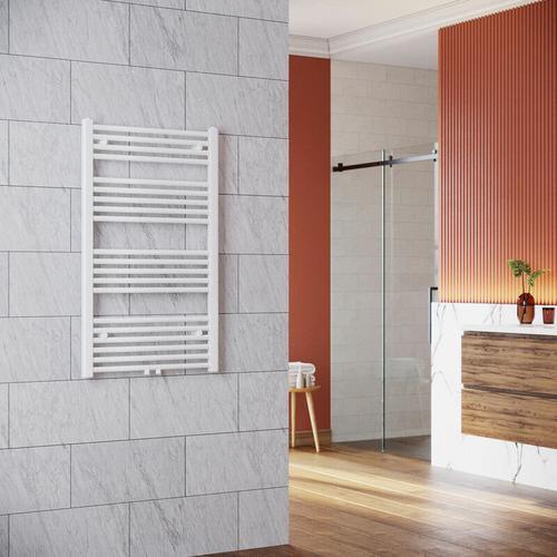 Handtuchhalter Heizung 1000 x 600 mm Heizkörper Bad Badheizkörper Mittelanschluss Handtuchtrockner