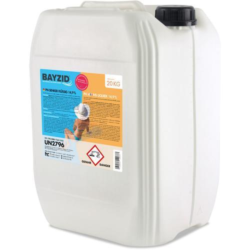 Höfer Chemie - 4 x 20 kg BAYZID® pH Minus flüssig 14,9%