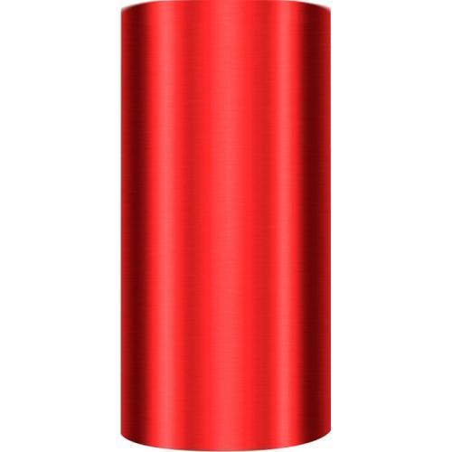 Fripac Alu-Folie Rot für Wrapmaster 20 my, 12 cm x 50 m Alufolie