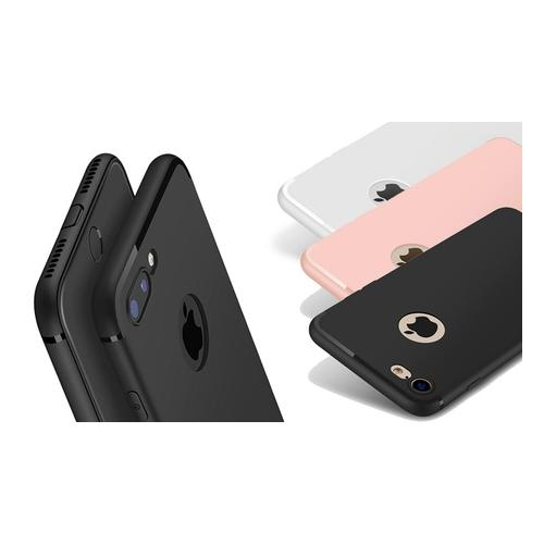 Slim-Case für iPhone: Schwarz/ iPhone 7 8