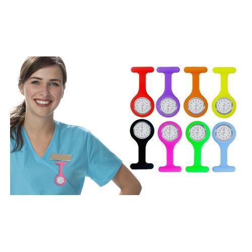 Krankenschwester-Silikon-Uhr: Lila/ 2