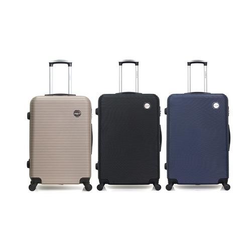 Reisekoffer London: Handgepäck-Koffer/ Beige