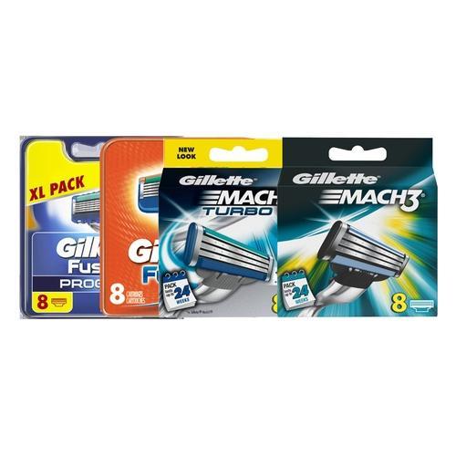 Gillette Rasierklingen: Gillette Mach3 Turbo Rasierklingen