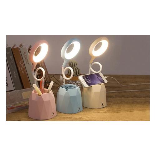 LED-Schreibtischlampe: Blau und Pink / 2