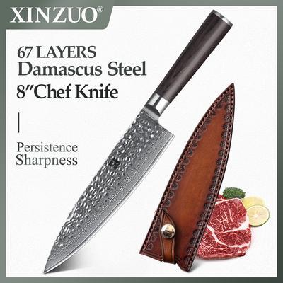 XINZUO couteaux de cuisine japon...
