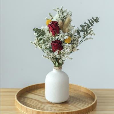 Bouquet de roses marguerites mix...