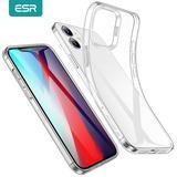 ESR Clair pour iPhone 12 Pro pour iPhone 12 mini pour iPhone 12 Pro Max Ultra Mince Transparente