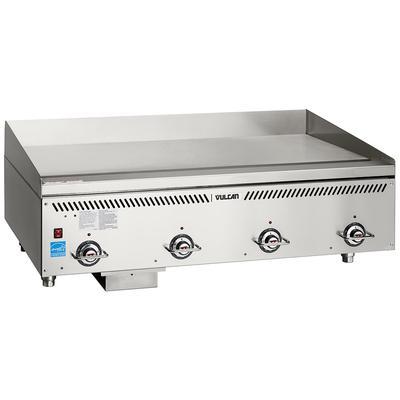 Vulcan VCCG48-AR 48″ Gas Griddle w/ Thermostatic Controls – 1″ Chrome Plate, Liquid Propane