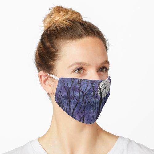 Mondscheinbäume II Maske