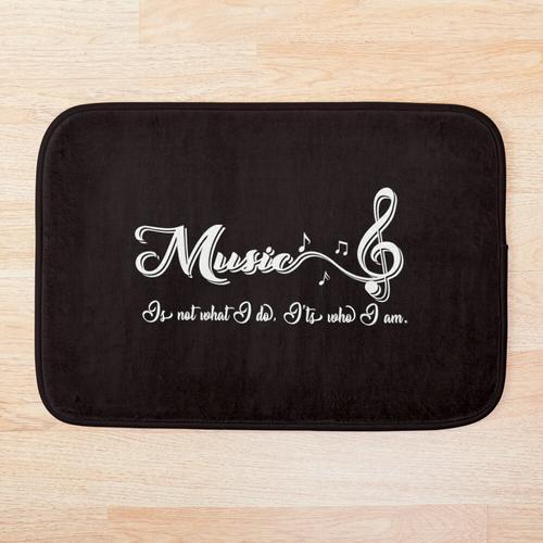 Musik / Musiker Badematte