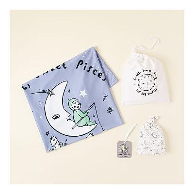 Baby Astrology Swaddle Gift Set