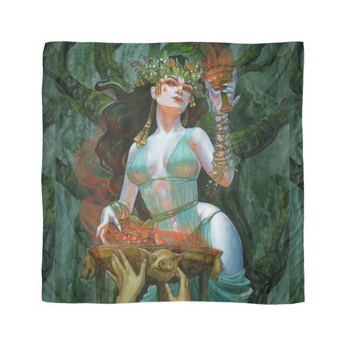 Circe Göttin der Verzauberungen Tuch