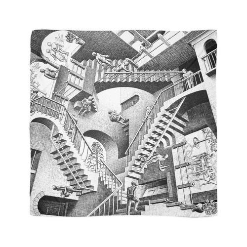 Escher Treppen Tuch