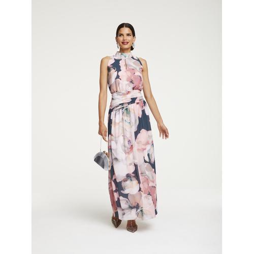 PATRIZIA DINI by Heine Abendkleid, mit Raffung bunt Damen Abendkleider Kleider Abendkleid