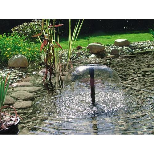 Pontec Springbrunnenpumpe PondoVario 2500, 2500 l/h schwarz Teichzubehör Teiche Garten Balkon