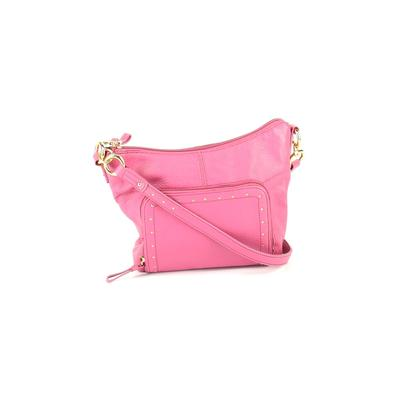 Stone Mountain - Stone Mountain Crossbody Bag: Pink Solid Bags