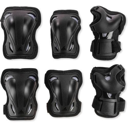 ROLLERBLADE Skate Gear 3 Pack Protektorenset in black, Größe M