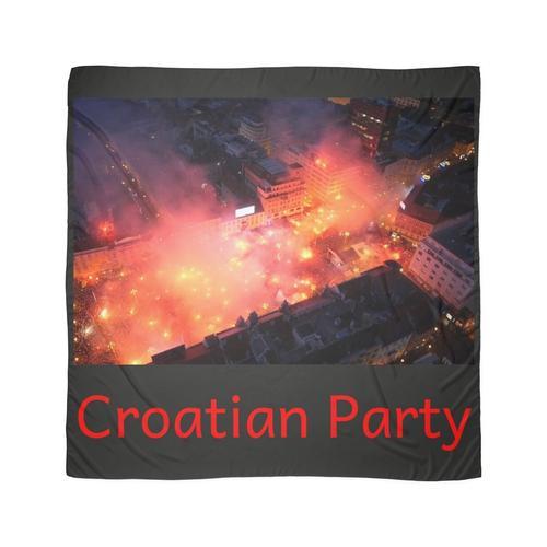 Kroatische Partei Tuch