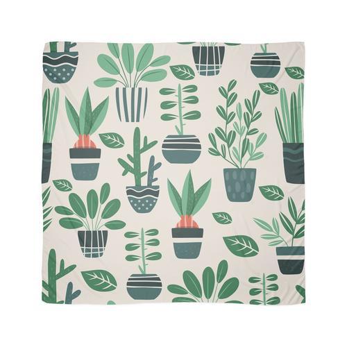 Topfpflanzen Tuch