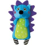 KONG Whoopz Hedgehog Squeaky Plush Dog Toy, Small