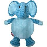 KONG Low Stuff Crackle Tummiez Elephant Squeaky Plush Dog Toy, Large