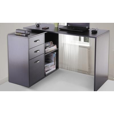 HomCom Computer Desk: Black