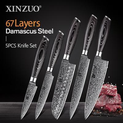 XINZUO – ensemble de couteaux de...