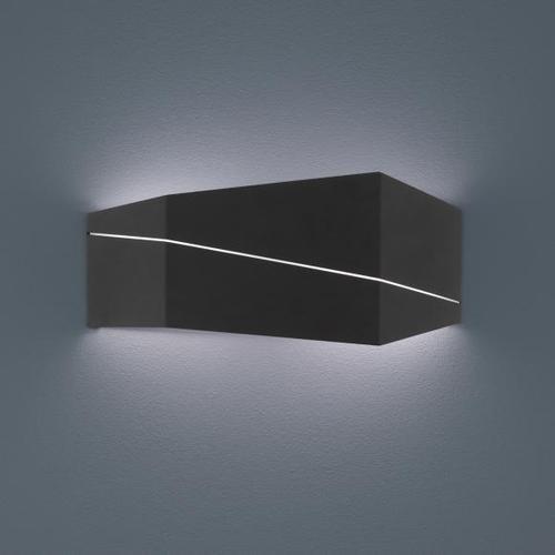 TRIO Zorro LED Wandleuchte B: 40 H: 18 T: 6,5 cm, schwarz matt 223210232, EEK: A+