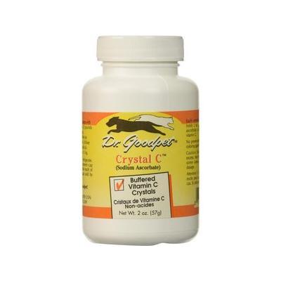 Dr. Goodpet Crystal C Buffered Vitamin C Crystals Dog & Cat Supplement, 2-oz jar