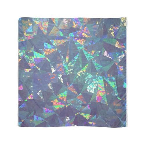 Glänzende Folie Tuch