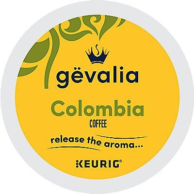 96 Ct Gevalia Colombian Coffee, 96-Count (4 Boxes Of 24) K-Cup® Pods. Coffee
