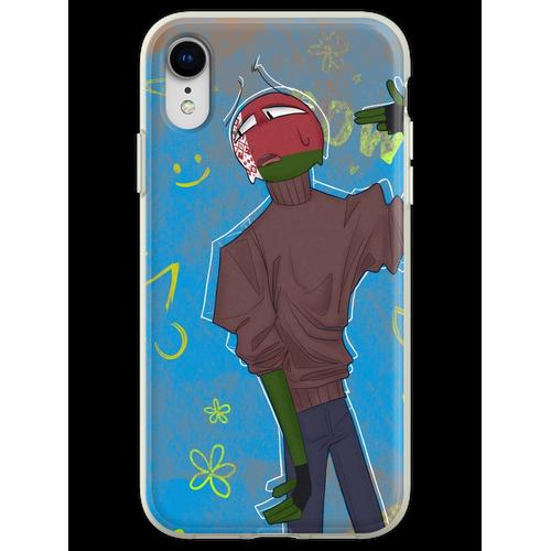 Landsleute // WEISSRUSSLAND Flexible Hülle für iPhone XR