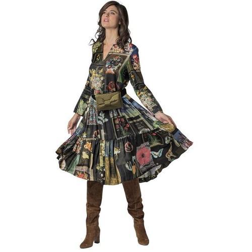 Vivetta Patch Patch Patch Neck Dress