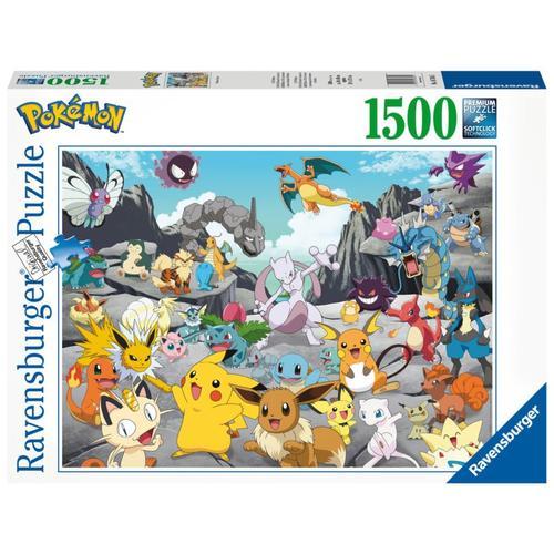Puzzle Pokémon Classics, 1.500 Teile