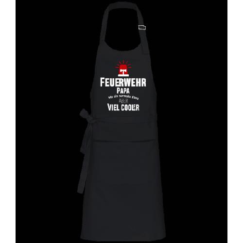 Cooler Feuerwehr Papa - Profi Kochschürze
